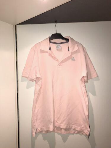 Neu Sehr Schönes Damen Adidas Polo Tshirt Top Oberteil Kurzarm Rosa Pink Gr S