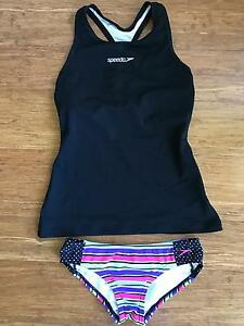 Girls Speedo Bikini Pants and Top size 10 Chermside West Brisbane North East Preview