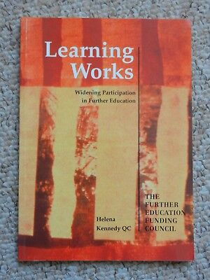 Learning Works Widening Participation in Further Education by Helena Kennedy QC for sale  Shipping to Nigeria