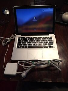 A1278 MacBook Pro Model - with charger and mouse