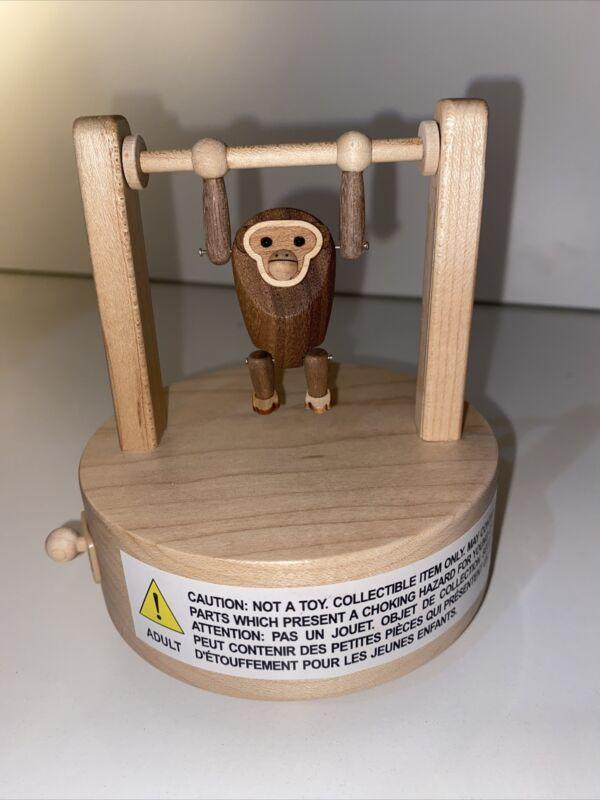 Adorable Wooderful Life Music Box Monkey
