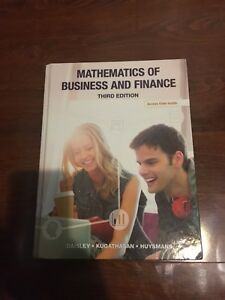 Mathematics of Business and Finance 3rd Edition