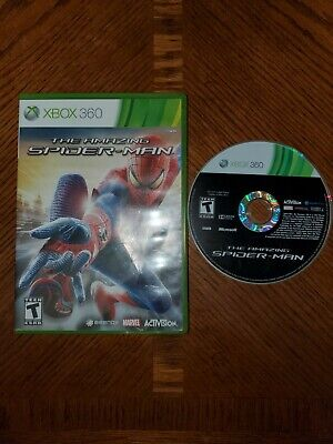 The Amazing Spider-Man (Microsoft Xbox 360, 2012)