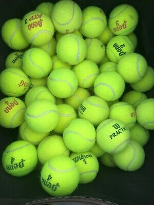 40 Used Tennis Balls