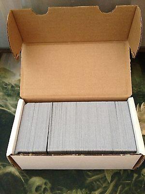 500 Basic Land Lot -100 of each type - BLACK BORDER + Storage Box -Magic MTG FTG