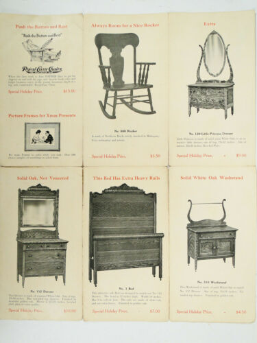 1914 Furniture Advertising Brochure for Christmas Bunch Fur. Co. Statesville