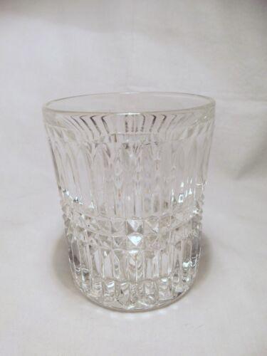 *NEW* Set of 8 vintage FOSTORIA crystal glass ASPEN rock LOWBALL GLASSES