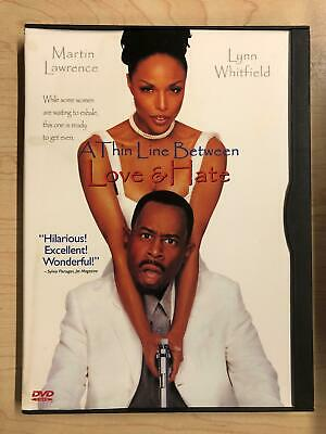A Thin Line Between Love and Hate (DVD, 1996) - G0202
