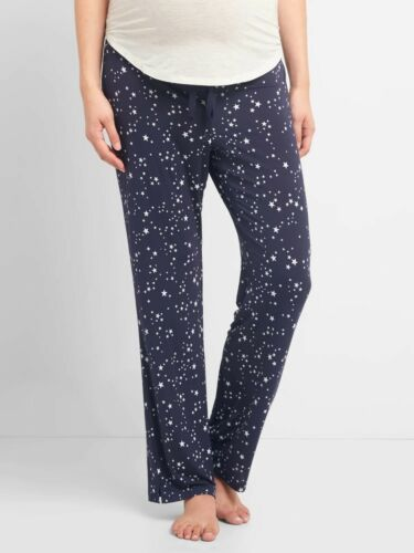 NWT** Gap Maternity Sleep Pants*Cosmos Dark Indigo**Size:S **730218