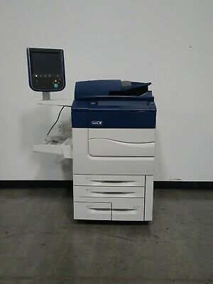 Xerox Color C60 Printer Copier Scanner - 60 Ppm Color - Only 153k Meter