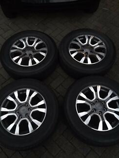 Ford Wildtrack Rims &; Tyres