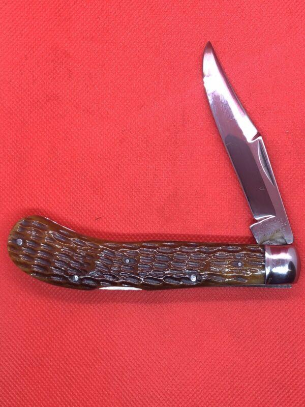 Vintage Wilbert Saddlehorn  Knife