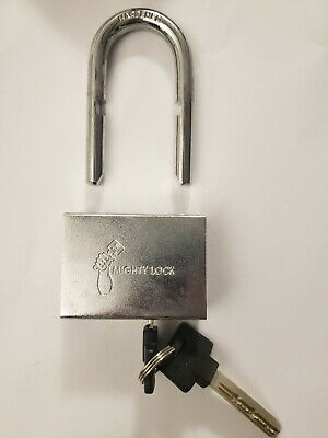 Mighty Lock Mul-t-lock Style Padlock Removable Shackle 10 38 Stainless...