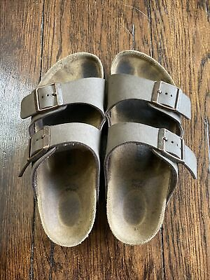 Birkenstock Arizona Kids Slide On Sz 33 Birkibuc Good Condition