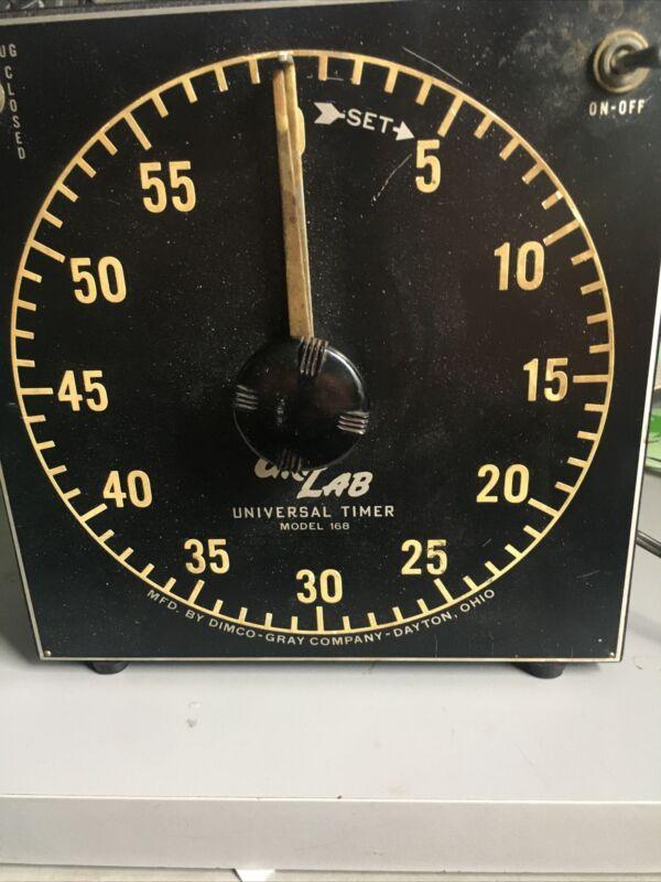 Cra-Lab Darkroom Universal Timer Model 168 Dimco-Gray Co.