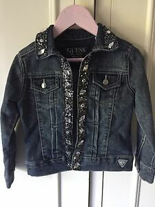 Girls Denim jacket size 4 Lane Cove North Lane Cove Area Preview