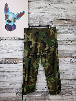 US Military Woodland Camouflage Pants Trousers Extended Cold Weather Medium Reg