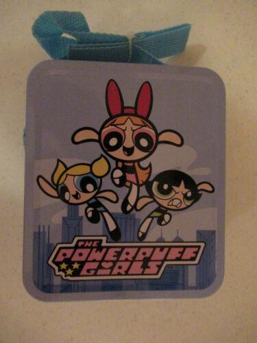 POWERPUFF GIRLS METAL LUNCHBOX WITH SHOULDER STRAP NEW