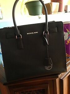 Authentic black Michael kors purse