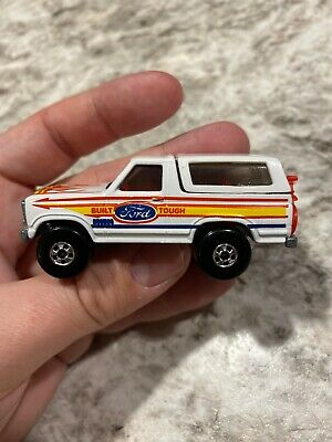 Hot Wheels 1980 Ford Bronco 4x4 Blackwall -