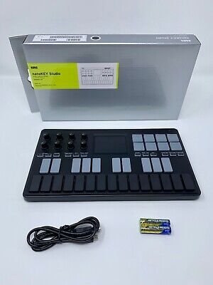 Korg nanoKEY Studio Bluetooth and USB Midi Keyboard Controller w/ 24 mo warranty