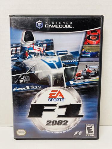 F1 2002 Nintendo GameCube, 2002 Complete W/ Manual Near Mint Fast Free Ship - $27.95