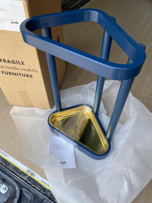 Artek Alvar Aalto 115 Umbrella Stand Blue