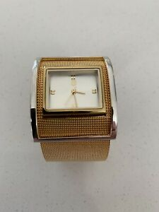 Gold plated & Silver Ladies Watch
