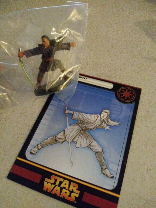 Star Wars Miniatures  Jedi Knight 12/60 New with card