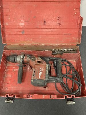 Hilti Rotary Hammer Drill Sds Max W Case And Drill Bits Model Number Te 55