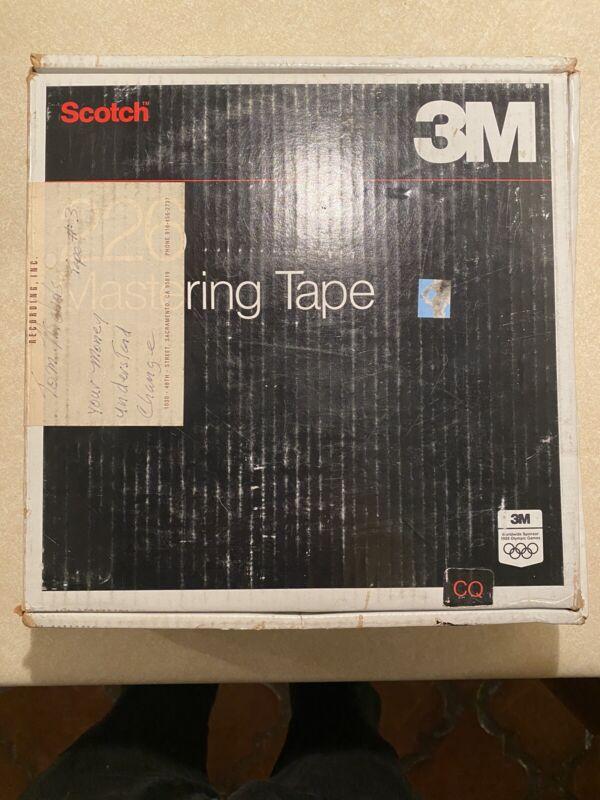 """3M 226 Mastering Audio Tape 2"""" x 2500"""