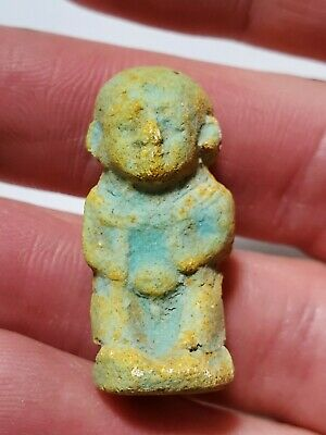 Egyptian Faience Figurine