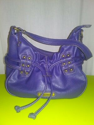Xoxo Hobo Handbag - XOXO Purple Hobo Shoulder Bag