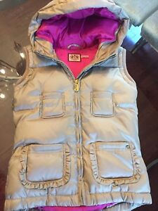 *** NEW - Size 14 - JUICY COUTURE Puffy Vest