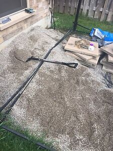 FREE:  Landscaping Pea Gravel - About 1/3 yard