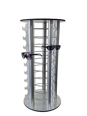 Round Counter Eyewear Stand Mirrors 50-pair Sunglass Reading Glass Retail Store