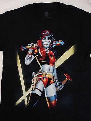 Harley Quinn Comic Batman Baseball Bat Dc Comics T-Shirt