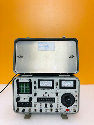 Ifr Fmam-1000a Communications Service Monitor For Parts Repair