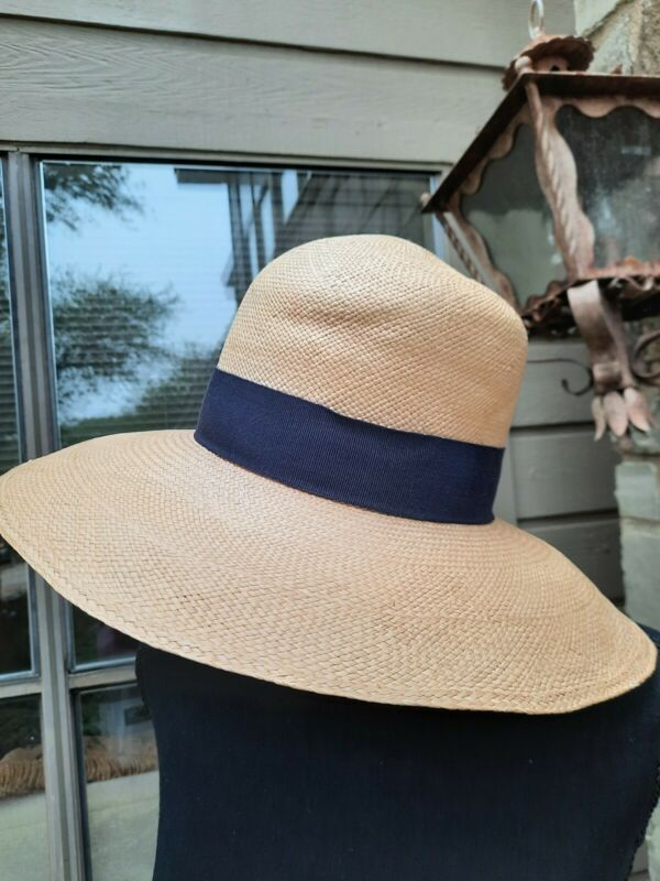 Vintage Straw hat Saks FIFTH Avenue MADE IN iTALY