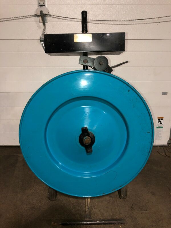 Banding Cart w/Plastic Banding Material As Seen In Pictures