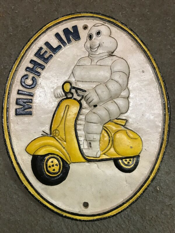 Cast Iron Michelin sign