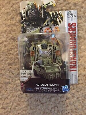 "Hasbro Transformers Last Knight AUTOBOT HOUND Legion Class 2.75"" Figure NEW"