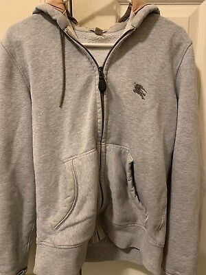Burberry Hoody - Burberry Zip Up Hoodie Size Small