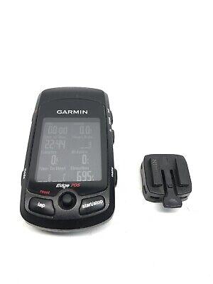 Garmin Edge 705 GPS Bike Computer, WORKING W/mount, READ!