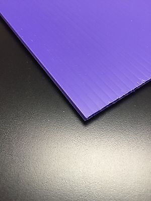 4mm Purple 24 X 36 4 Pack Corrugated Plastic Coroplast Sheets Sign