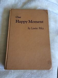 One happy moment -antique book