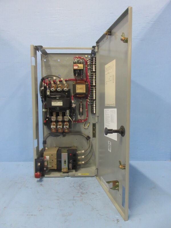 "General Electric GE 8000 Size 3 Starter 100 Amp Breaker Type 30"" MCC Bucket 100A"