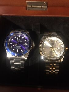 Automatic watches for sale set of 2 !