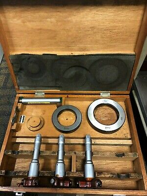 Mitutoyo 368-997 Holtest 2.4-3.6 Three-point Internal Micrometer Incomplete