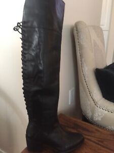 BNIB Black Leather Boots